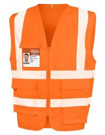 Heavy Duty Polycotton Security Vest